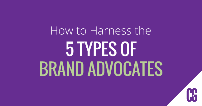 How to Harness the 5 Types of Brand Advocates by Caitey Gilchrist Creative